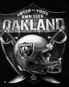 Check out all our Oakland Raiders merchandise! Oakland Raiders Logo, Okland Raiders, Raiders Pics, Oakland Raiders Images, Raiders Helmet, Raiders Stuff, Raiders Baby, Raiders Players, Oakland Athletics
