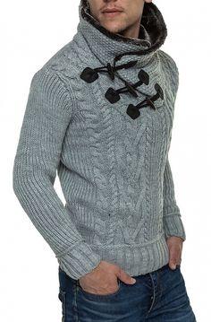 gruby sweter zimowy na drutach - Szukaj w Google