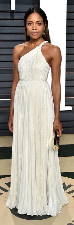 102Awesome Oscars Weekend OutfitsYou Didn't See - but Can't Miss - Naomie Harris in Calvin Klein