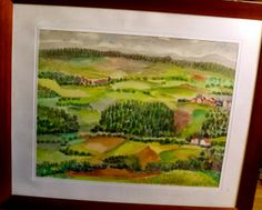Scenery by Maria Luisa Ibanez, a Spanish artist. Spanish Artists, Ibanez, Scenery, Painting, Spanish Art, Landscape, Painting Art, Paintings, Landscapes