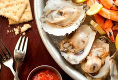Oysters at Acadiana Restaurant | John Mariani's Top DC Restaurants