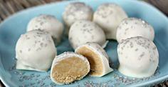 No Bake Peanut Butter Snowball Cookies