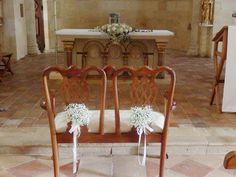 Décoration florale mariage au Château La Ligne