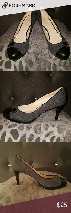 Nine west pumps, great for work. Almost new (worn once). Nine West Shoes Heels