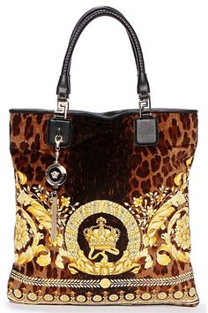 I WANT THIS VERSACE LEOPARD BAG!! OMG I AM IN LOVE!!!!!