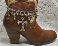 Bling Me Boot Jewelry, Boot Bracelet, Boot Bling, Boot Jewelry, Cowgirl Boot Bling, Boot Band Bracelet