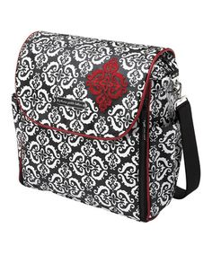 Look what I found on #zulily! Black & White Frolicking in Fez Diaper Bag by Petunia Pickle Bottom #zulilyfinds