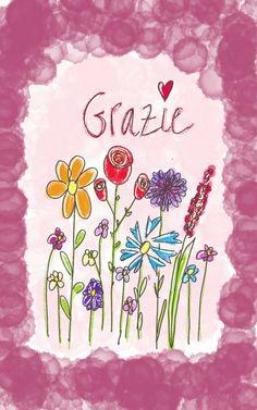 la parola più bella nei colori che amo di più GRAZIE!
