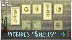 "Annett's Sims 4 Welt: Pictures ""Shells"""