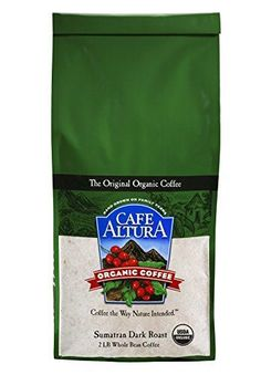 Cafe Altura Whole Bean Organic Coffee Sumatran Dark Roast 2 Pound ** Find out more about the great product at the image link.