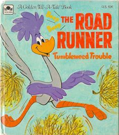Whitman Tell-A-Tale Books #2451-42 - The Road Runner - Tumbleweed Trouble (Issue)
