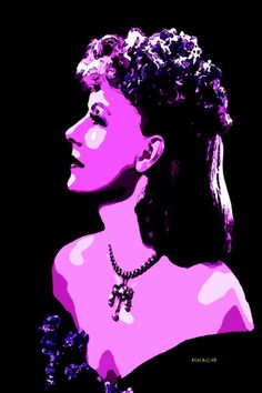 17-POP Art. Greta Garbo.