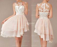 Lace+bridesmaid+dress+champagne+bridesmaid+dress+cheap+by+okbridal,+$120.00