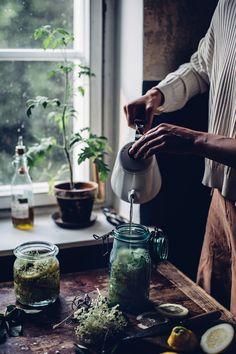 Homemade Elderflower Syrup - Our Food Stories Vie Simple, Kitchen Witch, Kitchen Magic, Witch Aesthetic, Elderflower, Le Chef, Slow Living, Medicinal Herbs, Farm Life