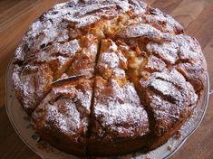 Bunter Glutenfrei-Kochlöffel: Buchweizen- Apfelkuchen mit Zimtguss glutenfrei