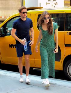 Niall and Hailee in NY 7/2018