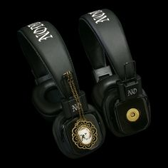 http://noddders.com/product/retro-collectable-headphones/   ---------------------- #subculture #gothic #victorian #steampunk #retro #vintage #creepy #goth #blackjewelries #bulldog #bulldogs #portrait #alternative #collection #collectibles #style #music #noddders #headphones #pendants