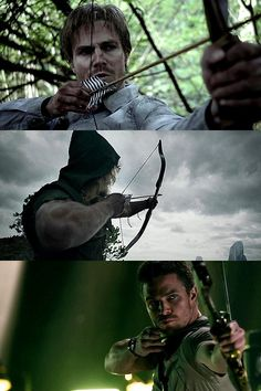 Oliver Queen | Bow and arrow development
