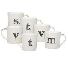 alphabet mugs | john lewis
