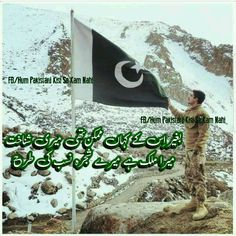 Pakistan Independence Day, Pakistan Armed Forces, Pakistan Zindabad, Urdu Quotes, Pakistani, Flag, Flowers, Beauty, Science