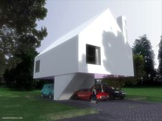 #modern #architecture #house modern house by Urban Symbiose Architects