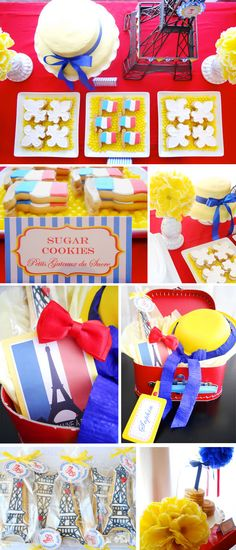 FRENCH THEMED BIRTHDAY PARTY