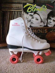 vintage 80's 'Roller Derby' roller skates SALE 20% off