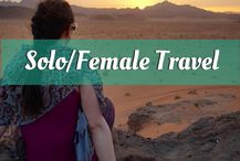 The cover for my Solo/Female Travel board.