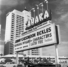 Sahara Hotel 1967 Las Vegas News Bureau