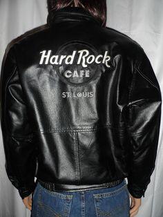 Hard Rock Cafe Houston Leather Jackets