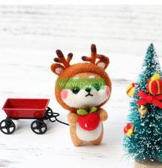 Where to buy Needle Felting Kits (7) Needle Felting Supplies, Starter Kit, Make It Yourself, Wool, Christmas Ornaments, Holiday Decor, Stuff To Buy, Christmas Jewelry, Christmas Decorations