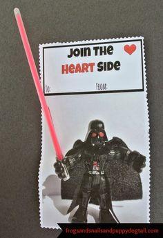 Darth Vader Valentine {Free Printable}