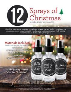 12 Sprays of Christmas Make & Take Workshop Kit