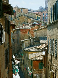 Midday in Siena, Italy Siena Italy, Tuscany Italy, Toscana, Magic Carpet, What A Wonderful World, City Streets, Wonders Of The World, Places To Go, Around The Worlds