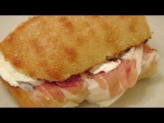 Prosciutto and Mozzarella Sandwich - Our Favorite - Italian Cook Laura Vitale - EverybodyLovesItalian.com