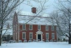 new england brick colonial homes - Bing images
