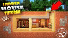 MINECRAFT: BEST SECRET BASE / DOOR Tutorial #3 How to Build a Hidden House