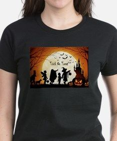 Halloween Trick Or Treat Kids T-Shirt for