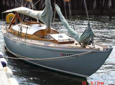Prestigious Mahogany Swedish Sloop For Sale at Barrons Marine on City Island. Classic Sailing, Classic Yachts, Bristol Channel, Sailboats For Sale, Boat Stuff, Sail Boats, Wooden Boats, Fishing Boats, Sailing Yachts