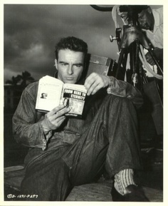 Montgomery Clift reading 'From Here To Eternity'