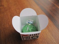 Personalized hershey kiss and box