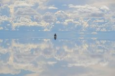 Photo and caption by Brett Mal.                     Lost in the search for life on the Salt flats. Location:Salar de Uyuni is part of the Altiplano of Bolivia in South America