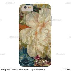 Pretty and Colorful Multifloral iPhone 6 Case  http://www.zazzle.com/pretty_and_colorful_multifloral_iphone_6_case-179327991564634234?rf=238588924226571373