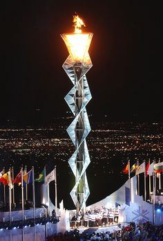 Olympic flame - 2002 the year that Utah/Salt Lake City hosted the winter Olympic Games and also due to Mitt Romney knowledge and planning - the Olympics' - were in the black. The first time the Olympics made money. Winter Olympic Games, Winter Games, Switzerland Places To Visit, Switzerland Tourism, 2002 Winter Olympics, Mozambique Beaches, Olympic Flame, Belize City, Salt Lake City Utah