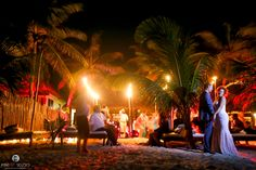 Gorgeous conclusion to an amazing wedding day (Decorations by Aquadeco) - Lucy & Justin's destination wedding in Tulum, Mexico