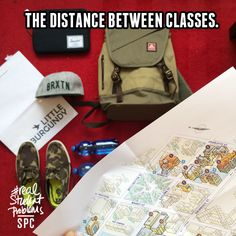 The trek to class is longer than the class itself. #realstudentproblems