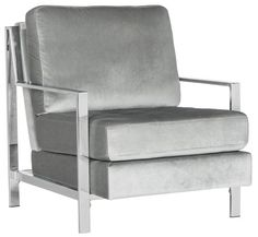 Shop a great selection of Safavieh Accent Chair, Normal, Light Grey. Find new offer and Similar products for Safavieh Accent Chair, Normal, Light Grey. Grey Chair, Sofa Chair, Tufted Armchair, Swivel Chair, Furniture Legs, Furniture Design, Luxury Furniture, Cheap Furniture, Accent Furniture
