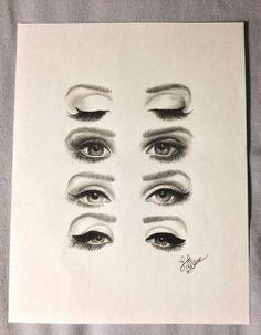 LDR eyes drawing