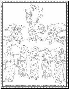 Mary Queen of May Crowning Coloring Page Mary Coloring Pages