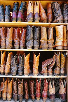 a want a shelf or shelves of boots that all have a different story to them.  im obsessed with my boots